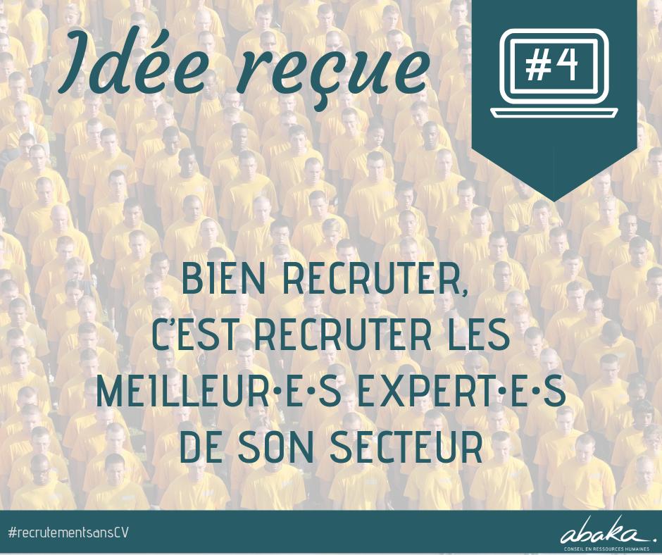 Recrutement sans CV #4