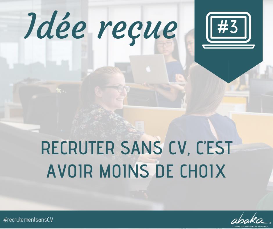 Recrutement sans CV #3
